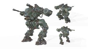 robot aset 3D model
