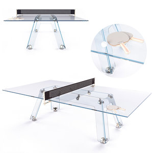 ping pong table impatia 3D model
