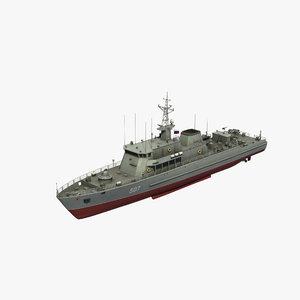 3D alexandrit class model