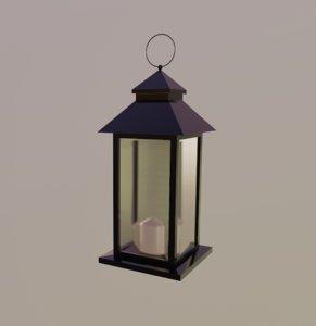outdoor lantern model
