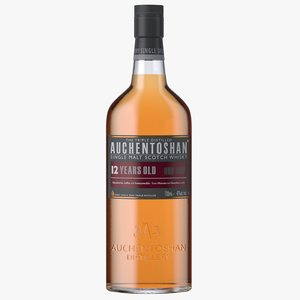 3D model auchentoshan 12 years old