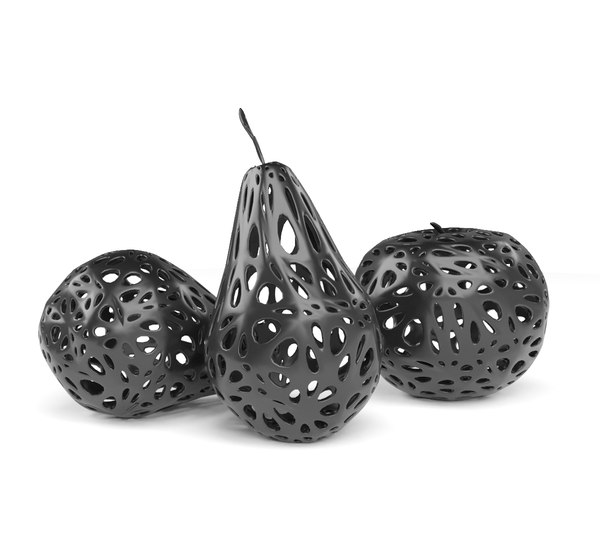 3D model vonoroi style
