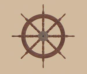 handwheel nails 3D model