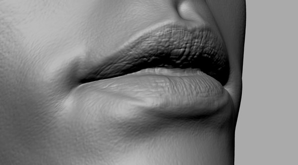 3D female lip