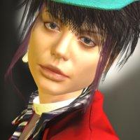 natalie rigged fashion 3D model