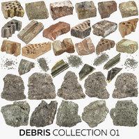 3D model debris 01 - 38