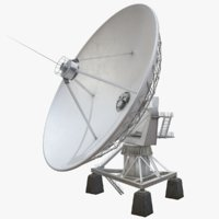 3D vla radio telescope model