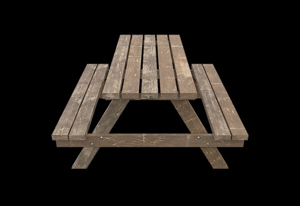 picnic bench model
