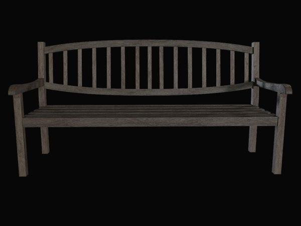 3D bench furnishing