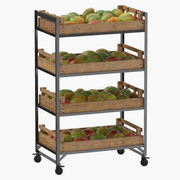 retail shelf 02 01 3D