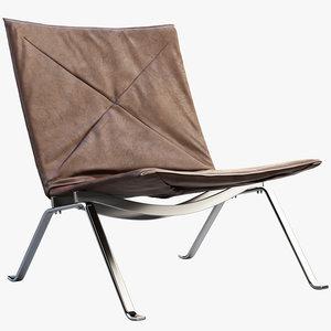 3D pk22 easy chair