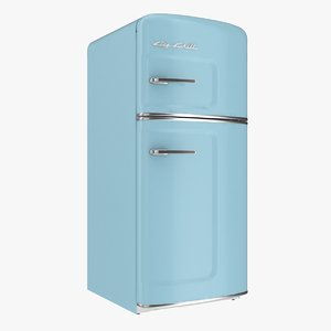 big chill studio fridge 3D model