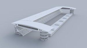 shanghai international circuit 3D