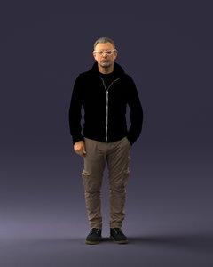 3D man pant