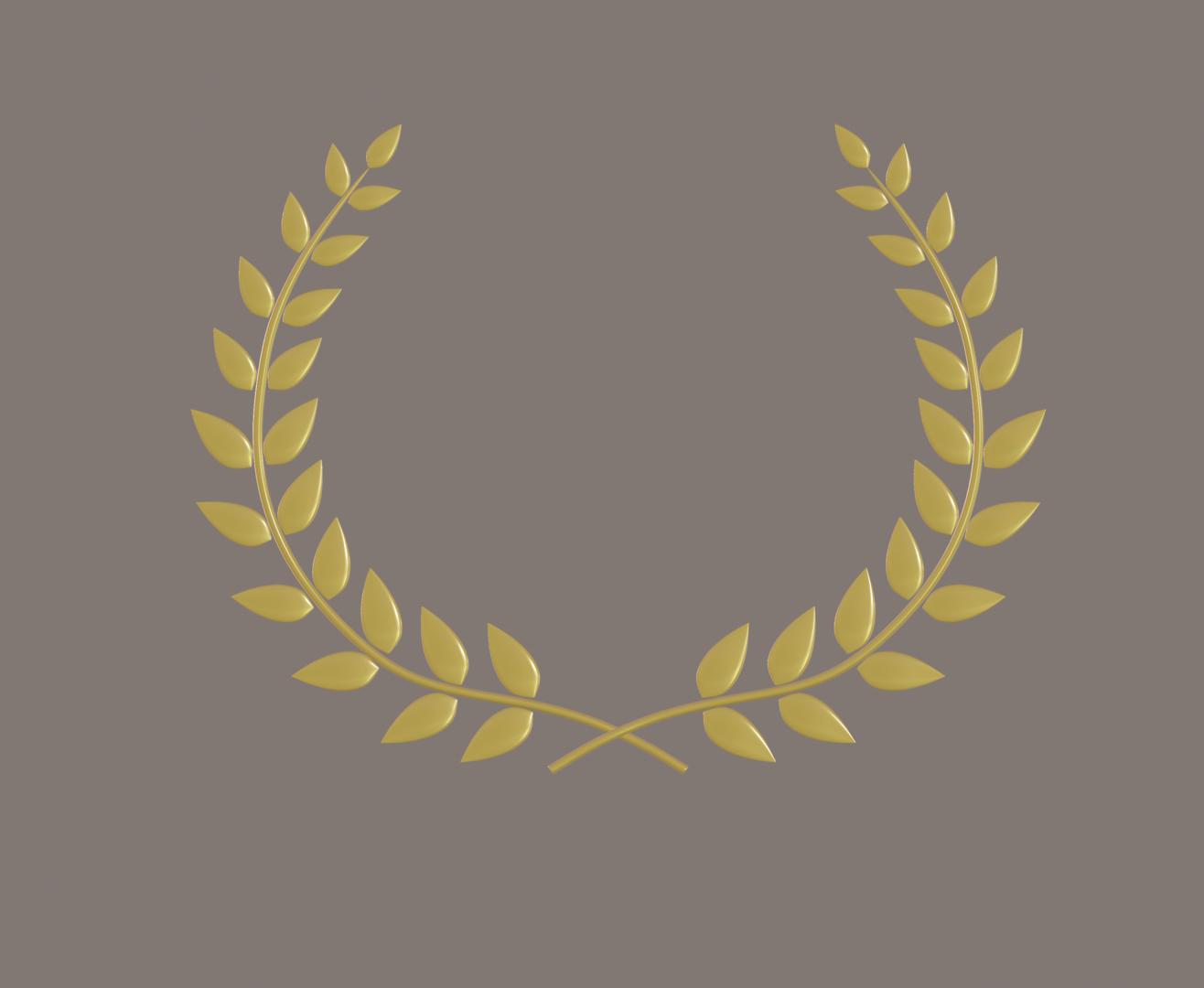 laurel wreath 3D