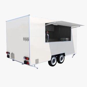 catering trailer 3D model