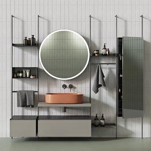 3D furniture bathroom nic design