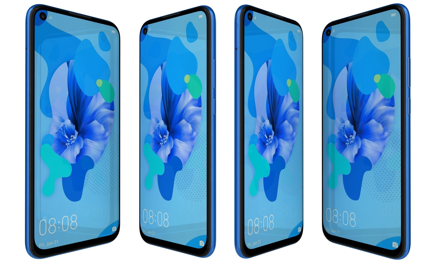 3D model huawei nova 5i gradient