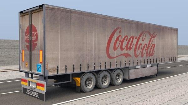 coca trailer 3D