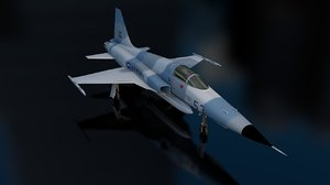 3D tiger ii supersonic fighter