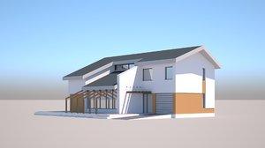 3D generic house model