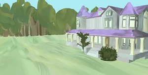 painted mansion 3D model