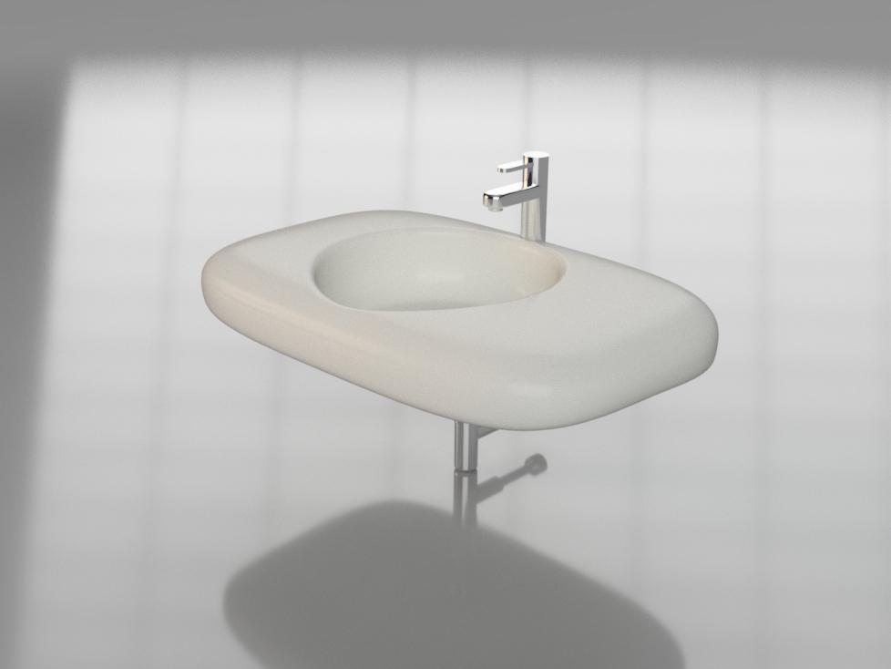 basin washbasin wash 3D model