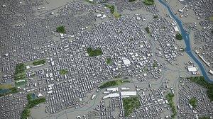 allentown surrounding - 3D