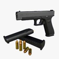 glock 34 9mm gun 3D