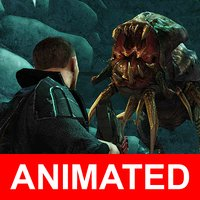 3D games sci fi character