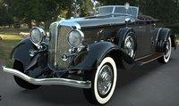 Chrysler Imperial 1932 Blender 2 81 3D Moldel