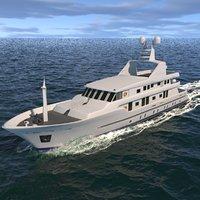 orleans yacht 3D model