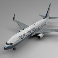 3D china southern airlines boeing