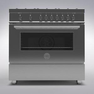 stove gas 3D model