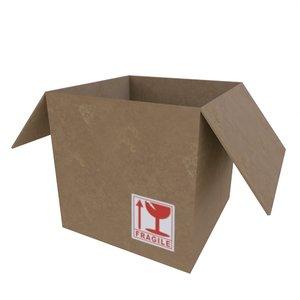 3D open box