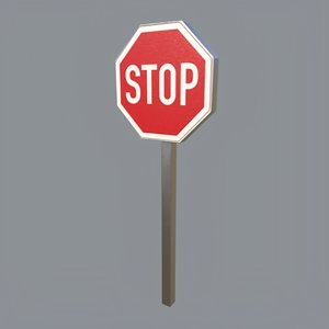 stop sign model