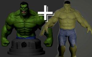 hulk 3D model