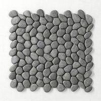 Panel Gray smooth pebble