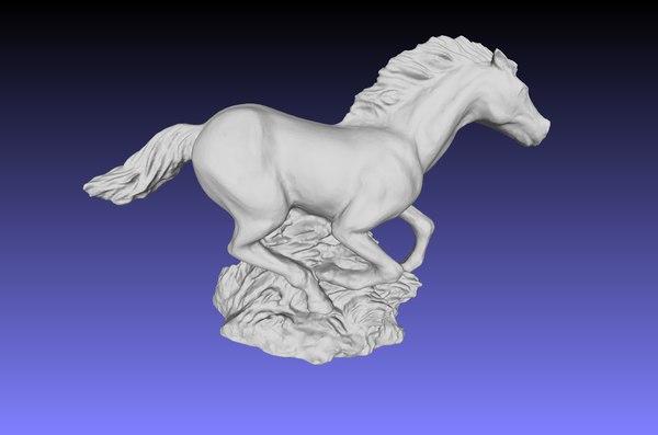 3D scan horse
