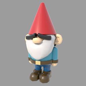 gnome 3D