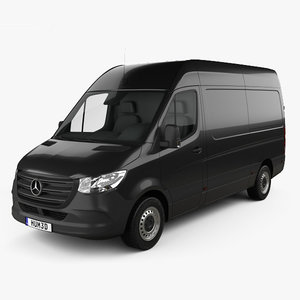 mercedes-benz sprinter panel 3D