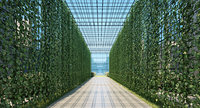 vertical garden 3D model