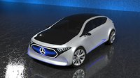 Mercedes-Benz EQA 2017 Electric Concept Car