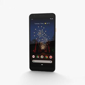 3D model google pixel 3a