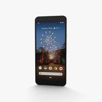 google pixel 3a 3D model
