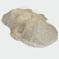3D pile sand model