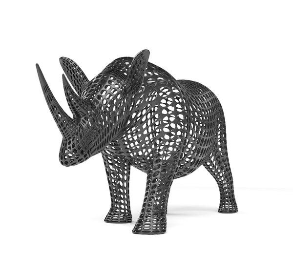 3D vonoroi model