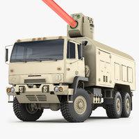 3D laser weapon