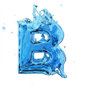liquid letter b model