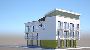 generic house 3D model
